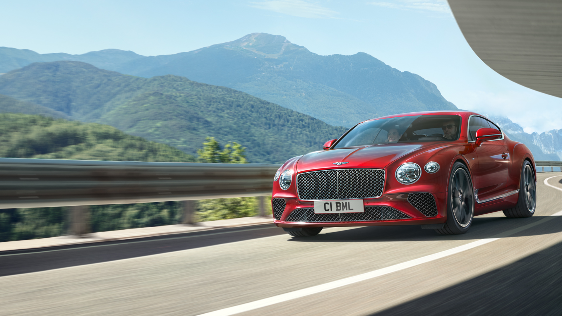 NEW CONTINENTAL GT V8 TOUR 2019